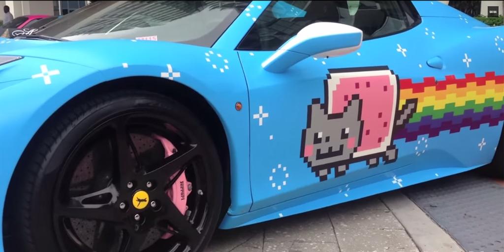 Ferrari Hates Deadmau5 S Nyan Cat Car Sends Cease And Desist B T