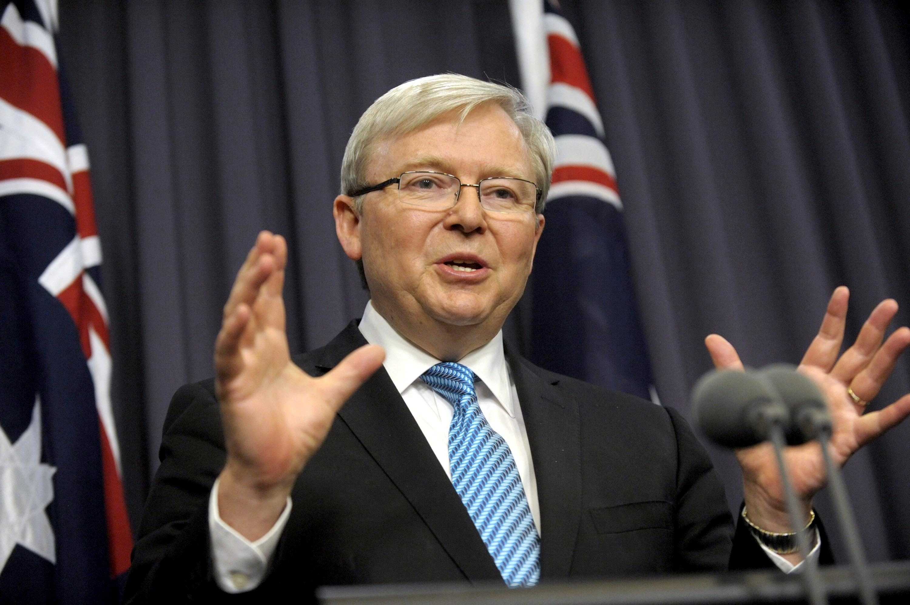 Kevin Rudd Calls For Royal Commission Into Aussie Media B T