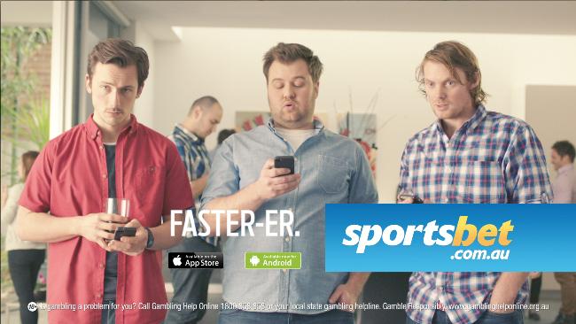 sports bet advertisement