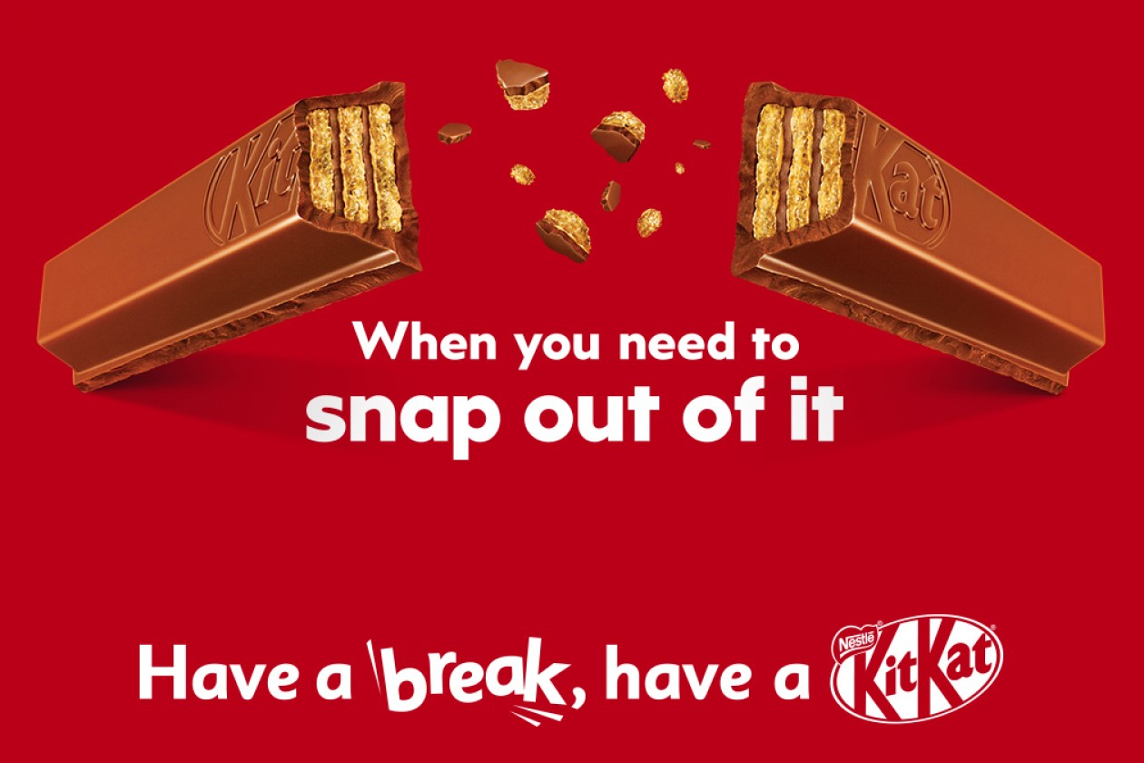 KitKat Launches New Creative Platform 'Snap Out Of It' Via J ...