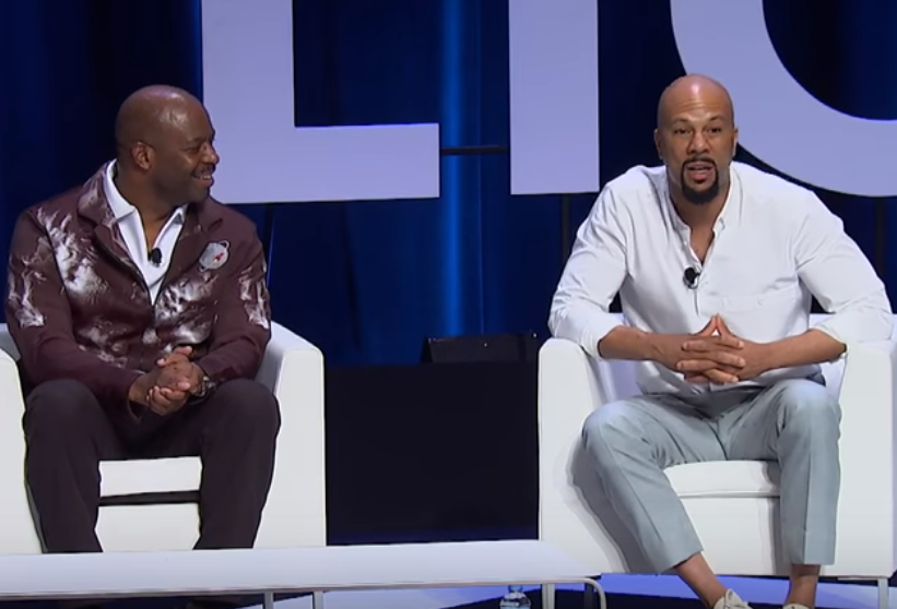 US Rapper Common & Astronaut Leland Melvin Declare Themselves Feminists at Cannes - B&T